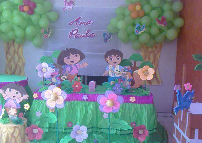 Decoración Dora La Exploradora
